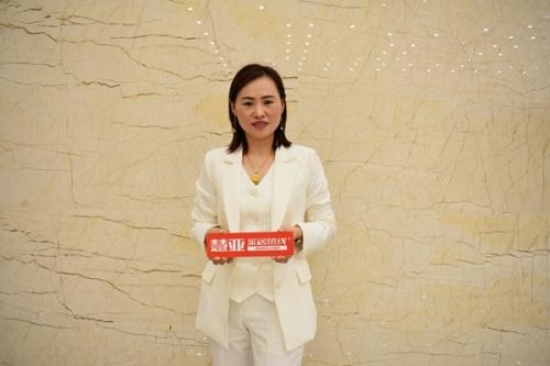 慧亚家居专访:林源木门新营销模式助力宣传和帮扶